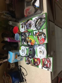 Xbox one with games  Baltimore, 21223