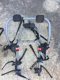 Bicycle rack for car or truck