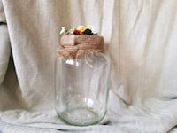 clear glass jar with lid Kelowna, V1Y 7A2