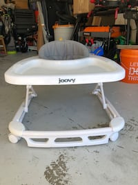 white and gray high chair Palm Harbor, 34684