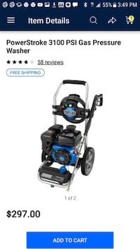 Brand new 3100 psi pressure washer  Riverbank