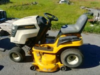yellow and white Cub Cadet riding mower Harpers Ferry, 25425