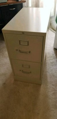 Two Drawer, Button Locking File Cabinet Gainesville, 20155
