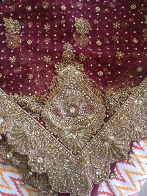 Bridal Lehenga with heavy and beautiful work