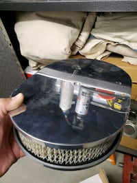 Air filter housing and filter