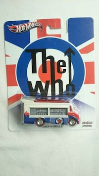 HOT WHEELS SMOKIN GRILLE THE WHO POP CULTURE W/RR Ontario, L4L 1V3
