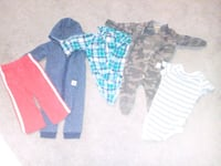 toddler's assorted clothes Parker, 80134