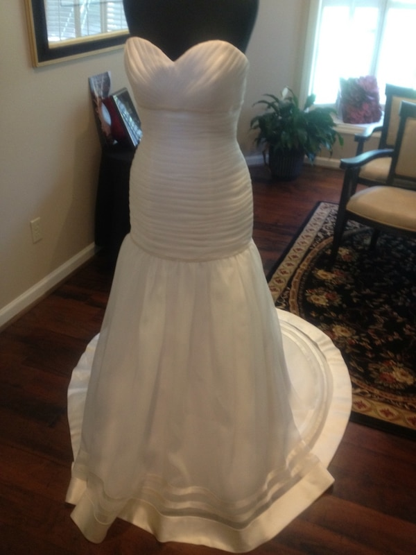 Used One of a kind wedding gown NEVER WORN NEVER ALTERED for sale in ...