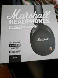 Marshall headphones monitor bluetooth Toronto, M3A 1Y2