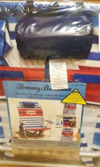 Tommy Bahama backpack chair brand new Alexandria, 22311