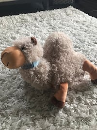 Zoobies stuffed camel toy with blanket