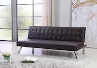 BRAND NEW LEATHER SOFA BED (3 COLORS & GREY FABRIC SOFA AVAILABLE) TORONTO