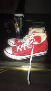 pair of red Converse All Star high-top sneakers Ontario, 91764