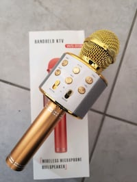 Brand new  Karaoke Mic with Built-in wireless Bluetooth Speaker $40  Mississauga, L5W