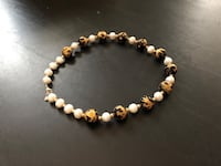 Pearl & Carved Onyx Necklace Arlington, 22204