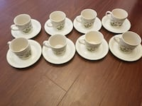 All brand new  8 cup and plates Mississauga, L4T 2E7