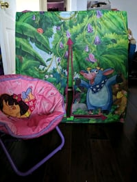 Dora foldable chair and foldable tent