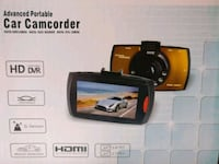 black portable car camcorder Victoria, V9B 6P1