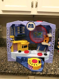 Monsters Inc Scare Factory toy