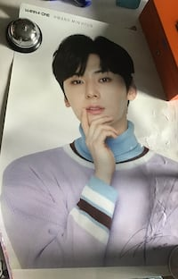WANNA ONE Hwang MINHYUN Poster Laval, H7A 3N8