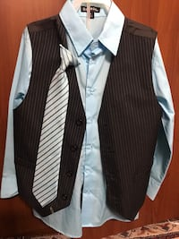 Boys suit with pant Size 8. Like new  Cupertino, 95014