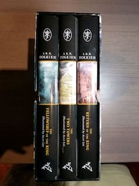 """J.R.R. Tolkien """"The Lord Of The Rings"""" Trilogy Hardcover Illustrated  Mississauga, L4Y 3S4"""
