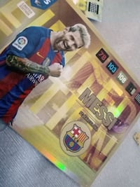 Messi Limited Edition Gull Kort  5973 km