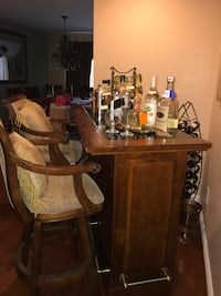 brown wooden table with chairs Manalapan, 07726