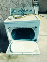 white and blue front-load clothes washer Compton, 90222