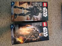 Lego: Imperial Death Trooper and Sergeant Jyn Erso Baldwin, 11510