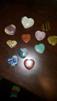 11 crystal hearts I PD over 140 Colorado Springs, 80904