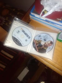 PS3 game gta4 and skate 3