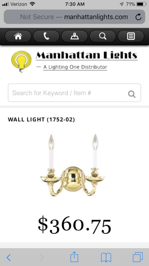 Solid Brass chandelier with matching wall sconces 92c51752-7bb5-45a3-b033-c83343197c71