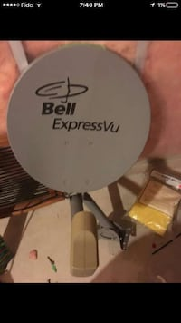 Satellite dish and receiver (FTA)  Edmonton, T6W 0C2