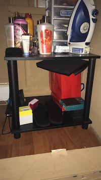 Selling two black nightstands Clifton