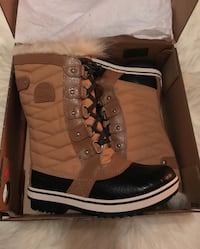 Sorel Waterproof Winter Insulated Leather Boots for the rain and snow! New never been used Women ore Youth Size 7, EUR 39 Lynnwood, 98087