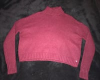 Red turtleneck sweater Atwater, 95301