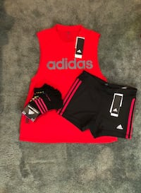 red and black Adidas jersey shirt Seattle, 98104