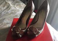 GUESS Open-Toe Pumps, Size 7.5 Toronto, M5V