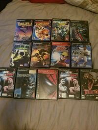 PS2 games (used, almost all $5 each) Cypress, 90630