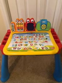 toddler's yellow and blue learning table Springfield, 22150