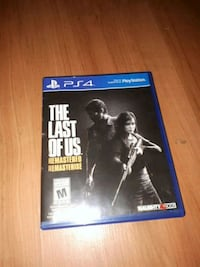 The Last of Us Remastered PS4 game case Kitchener, N2M 4N2