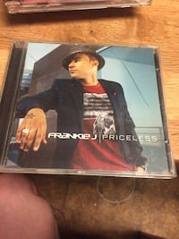 Frankie j priceless album disc case