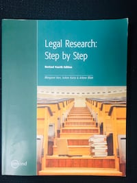 LEGAL RESEARCH BOOK  Vancouver, V6E 2Y2