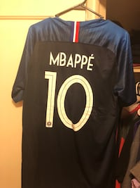 France Superstar Mbappe Authentic Jersey  Lakewood, 80215