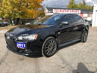 2011 Mitsubishi Lancer Ralliart/AWD/TURBO/Very Clean/Comes Certified Scarborough, ON M1J 3H5, Canada