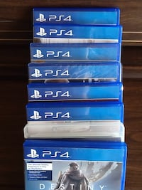 Number of PS 4 games. Original and complete. Price negotiable . Surrey, V3X