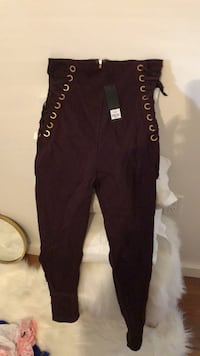 Brand new high waisted pants size L Toronto, M9N