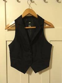 Ladies Black Dress Vest Vancouver, V6G 2C9