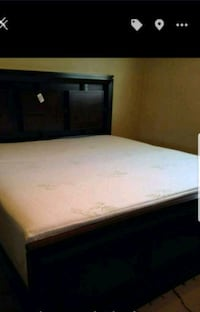 white and blue bed mattress 170 mi